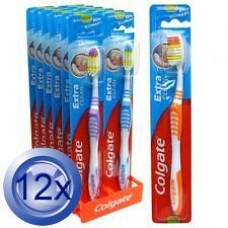 12X Colgate Soft Toothbrush Extra Clean