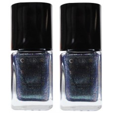 2X Covergirl Outlast Nail Polish 320 Midnight Magic 11mL