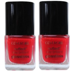 2X Covergirl Outlast Nail Polish 515 Sangria 3.5mL