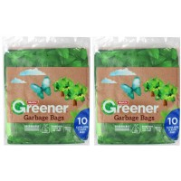 2X MULTIX Garbage Bags Extra Wide 10pk Degradable 56L
