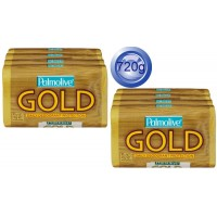 2X Palmolive Body Soap Gold, Daily Deodorant Protection 4PK 90g