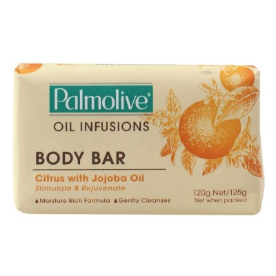 6X Palmolive Aromatic Infusions Body Soap Citrus & Jojoba Oil