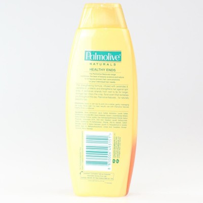 4X PALMOLIVE Natural Shampoo Healthy Ends Camellia Oil 350mL