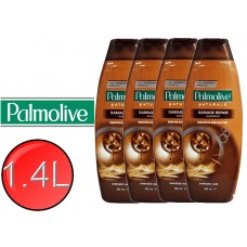 4X PALMOLIVE Natural Shampoo Damage Repair 350mL