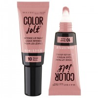 2X MAYBELLINE Lip Paint Intense Colour Jolt #10 Never Bare 6.4mL