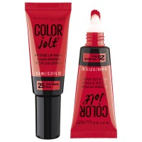 2X MAYBELLINE Lip Paint Intense Colour Jolt #25 Red 6.4mL