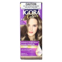 SCHWARZKOPF Igora Intensive Permanent Hair Colour #5-0 Light Brown