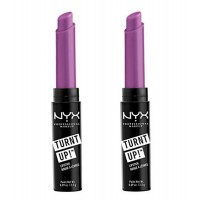 2X NYX Lipstick Turn It Up Extreme Colour #08 Twisted