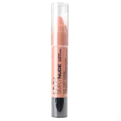 2X NYX Lip Cream Simply Nude #04 Fairest 3mL