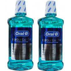 2X ORAL B 500mL PRO-Health Mouth Rinse Fresh Mint