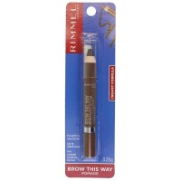RIMMEL Eyebrow Crayon Brow This Way Pomade Dark 3.25g
