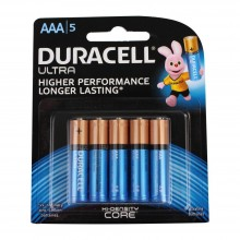 Duracell AAA Ultra Higher Performance Batteries PK5