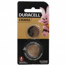 Duracell Lithium Batteries CR2032 PK2 3V