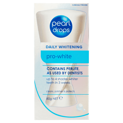 3X Toothpaste PEARL DROPS Daily Whitening Pro-White 80g