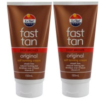 2X LE TAN Original Self Tanning Cream Deep Bronze 150mL