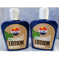 2X Le Tan Coconut SPF8 Sunscreen Lotion 125mL