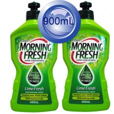 2X Morning Fresh Dish Washing Liquid Lime Fresh 450mL