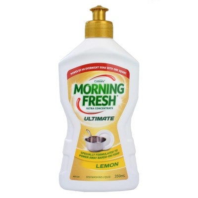 2X Morning Fresh Dishwashing Liquid Ultimate Lemon 350ml