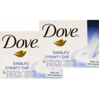 4X Dove Beauty Cream Soap Bar Moisturising 100g