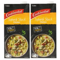 2X Continental Superb Chicken Stock 1L