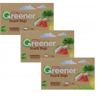 3X MULTIX Degradable Snack Bags 35PK (16cm X 10cm)