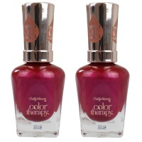 2x Sally Hansen Nail Polish Colour Therapy #280 Rose 14.7mL