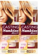 2X L'Oreal Casting Sunkiss Jelly Hair Treatment Blonde