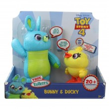 Disney Pixar Toy Story 4 True Talkers Bunny and Ducky