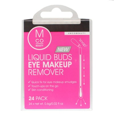 4X MODEL CO Liquid Buds Eye Makeup Remover PK24 (96 Buds)