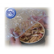 4X Elastic Food Covers 20PK Medium & Large