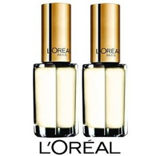 2X LOREAL Colour Riche Nail Polish 850 Lemon Meringue 5mL