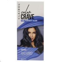 Clairol Color Crave Semi Permanent Hair Colour Indigo 60ml