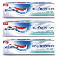 3X Macleans High Definition White Toothpaste Mint 90g