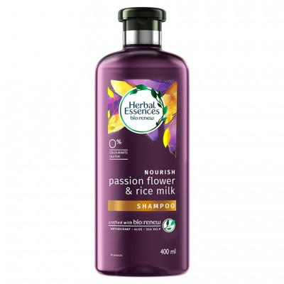 2X Herbal Essences Shampoo Passion Flower & Milk 400mL