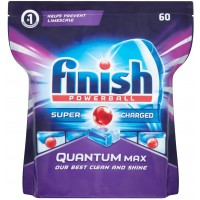 Finish Quantum Powerball Dishwashing Tablets Lemon PK60