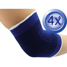 2X Pairs Elastic Cotton Elbow Support