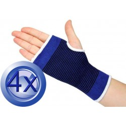 2X Pairs Elastic Brace On Wrist Support