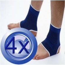 2X Pairs Elastic Ankle Joint Support