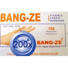 2X Fabric Adhesive Bandage 70 X 18mm 100PK