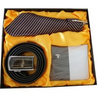 Great Gift Set With Tie, Belt & Wallet, Best Gift