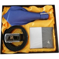 Fantastic Gift Set With Tie, Belt & Wallet, Great Gift