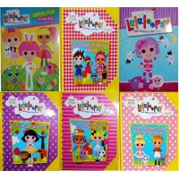 6X Assorted Tales Of Lalaloopsy Land Books