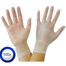 100X Extra Large Vinyl Disposable Low-Powder Gloves