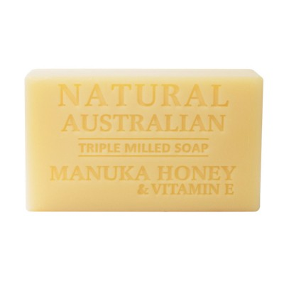 4X AUSTRALIAN Soap Natural Manuka Honey & Vitamin E 100g