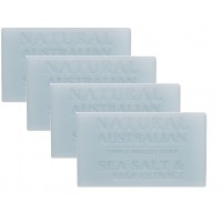 4X Aussie Soap Sea Salt & Kelp Extract No Chemicals